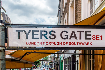Tyers gate, London