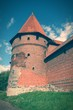 Medieval castle Malbork - cross processed color tone