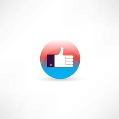 hand thumb up icon