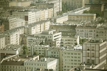 Warszawa, Poland - cross processed color tone