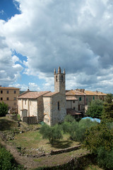Chiesa di Santa Maria - Monteriggioni (Si)