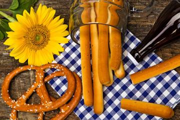 Tischdekoration, Oktoberfest