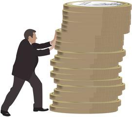 spingere l'economia