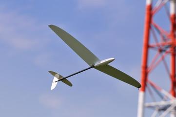 模型のグライダー