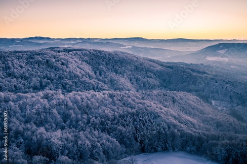 Schweizer Schneelandschaft