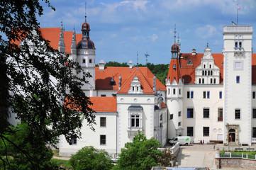 Teilansicht Schloss Boitzenburg