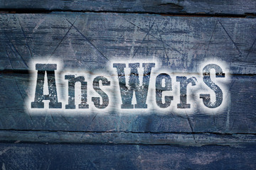 Answers Concept