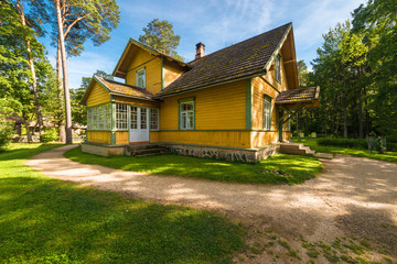 Traditional eastern-european country house of XX century