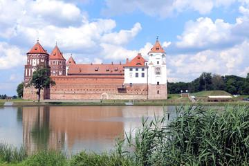 Ancient Mir Castle Complex in Belarus