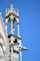 Gothic style church in Pisa - Tuscany, Italy