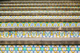 decoration of famous steps in Caltagirone