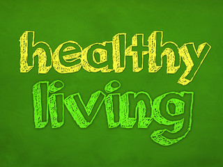 healthy living - design concept