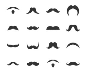 Iconset Mustaches Icons