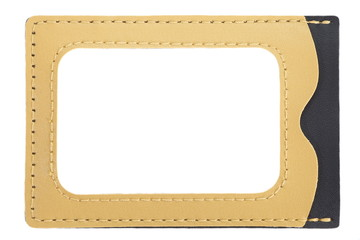 id card holder leather id card holder with path
