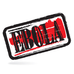 Ebola grunge rubber stamp , vector illustration
