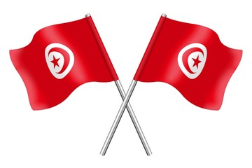 Flags of Tunisia