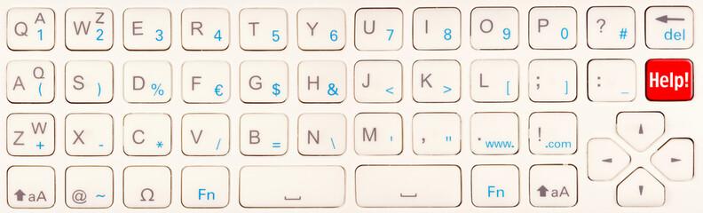 Help!, appel à l'aide sur clavier de télécommande