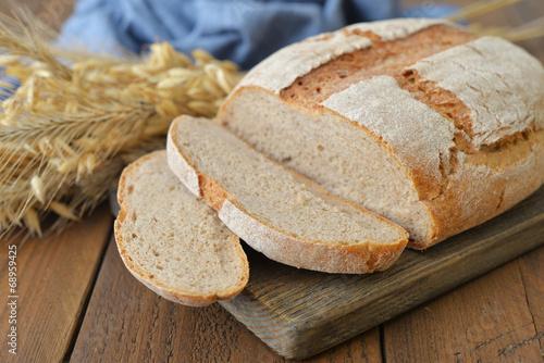 canvas print picture Sliced  bread