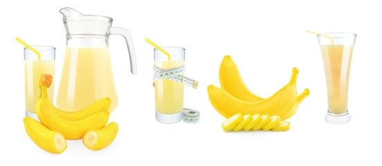 banana juice, meter and fruit