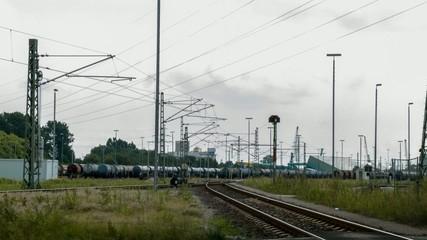 Güterbahnhof Gleisanlagen