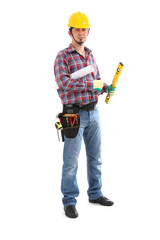 Carpenter Contractor Man