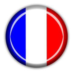 bouton drapeau français
