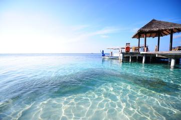 Beach, sun, sand, sea, maldives