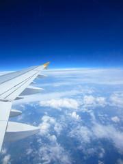 wingtip on the horizon