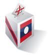 Wahlbox Laos