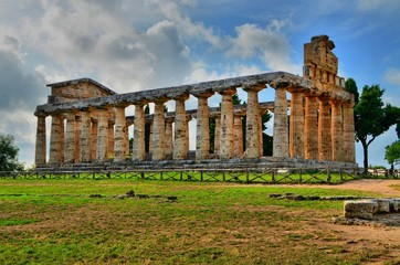 Ancient Greek temples and ruins in southern Italy