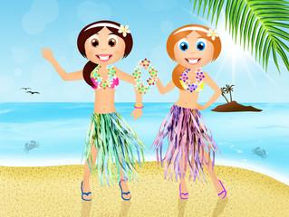 Hawaiian women