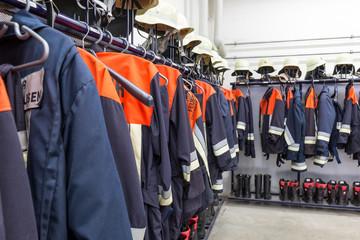 Feuerwehr Bereitschaftsraum