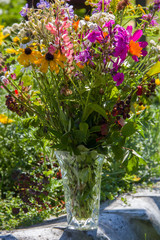 Bouquet from wild flowers