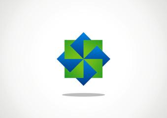 rectangle icon logo six three