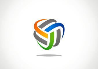 Economy finance chart bar business productivity logo