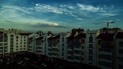 Timelapse in The Chelyabinsk