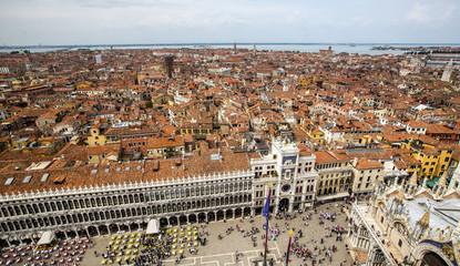 aerial view to Venetia