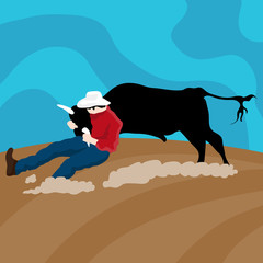 Cattle Wrangler Cowboy