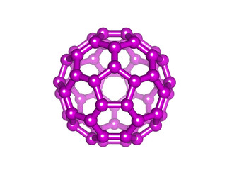 Fullerene_purple