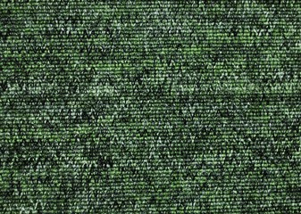 Texture of green carpet coverage