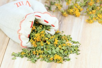 Dry herb St. John´s worth