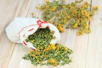 Dry herb St. John´s worth