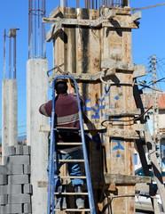 travail d'équipe sur chantier