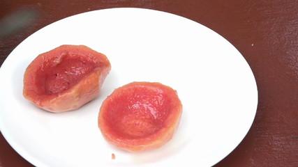 Guava Shells a traditional Cuban dessert