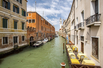 venecian cannel with belfry