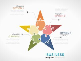 Business star presentation