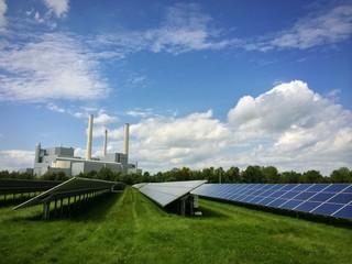 Solaranlage kontra Heizkraftwerk
