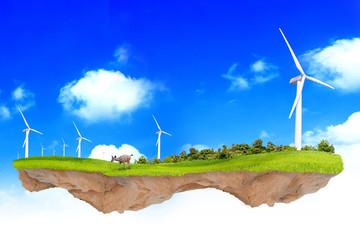 Fantasy ecology concept