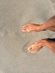 Camminare sul bagnasciuga