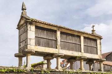 Traditional barn in Vilanova de Arousa